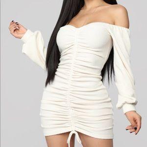 Baby I'm in Love Fashion Nova Ruched Dress